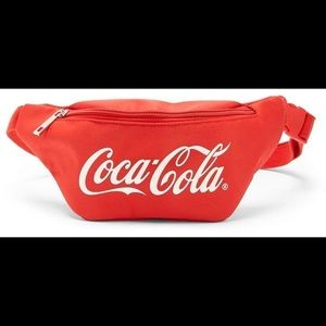 F21 x Coca Cola red fanny pack
